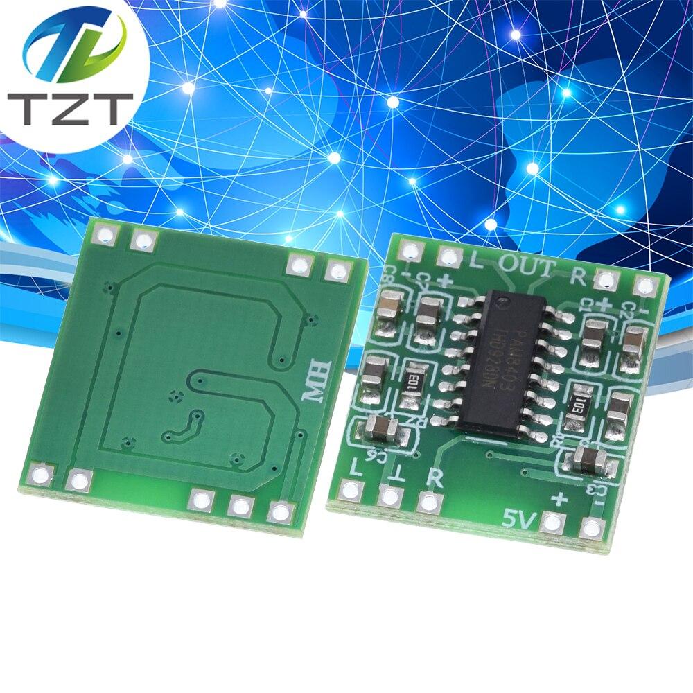 5PCS Mini Digital Power Amplifier Board PAM8403 Class D 2*3W