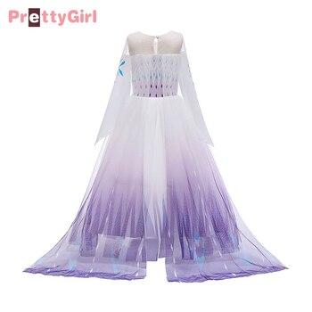Disfraz de princesa PrettyGirl para niñas, disfraces, Cosplay para niños, Navidad, Halloween, fiesta de cumpleaños, vestido de lujo