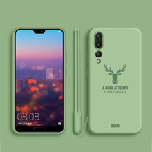 Original Liquid Silicone Phone Case for Huawei P20 Pro / P20 Plus Soft-Touch Silky Protective Cover For Huawei P20 Coque Fundas new original dw as 501 p20 dw as 503 p20