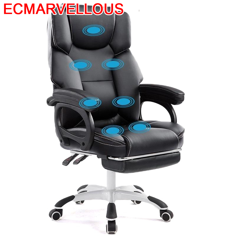 Bureau Meuble Armchair Gamer Ergonomic Taburete Bilgisayar Sandalyesi Oficina Leather Office Silla Gaming Massage Cadeira Chair
