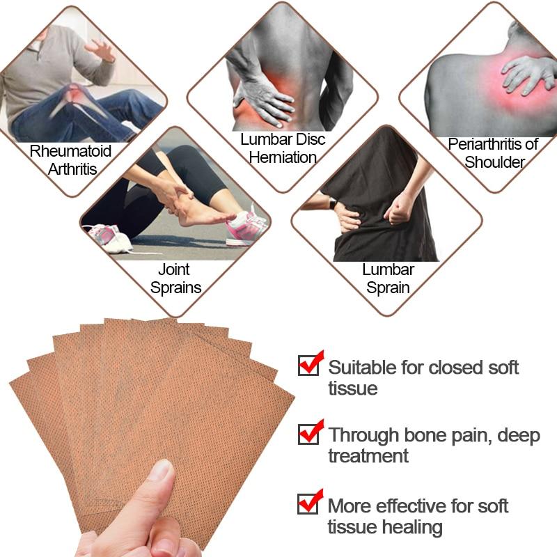 Sumifun 16 piezas parches de dolor de bálsamo de tigre rojo de - Cuidado de la salud - foto 3