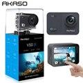 AKASO V50X NIC 4K30fps WiFi Экшн-камера с сенсорным экраном EIS регулируемый угол обзора 131 футов водонепроницаемая камера Спортивная камера