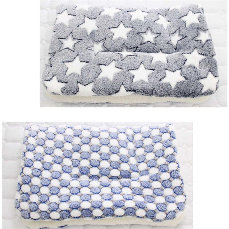 S-XXXL 三層肥厚猫犬毛布 7 スタイルフランネル犬マット睡眠カバータオルペット毛布犬クッション dropshopping