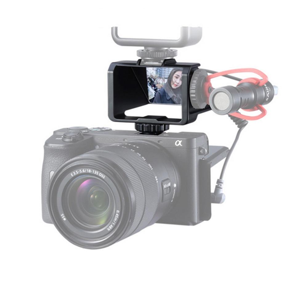 Camera Vlog Selfie Flip Screen Bracket Video Shooting Reverse Mirror Mount Holder For Sony For Fujifilm XT2 XT3 XT20 XT30 Camera