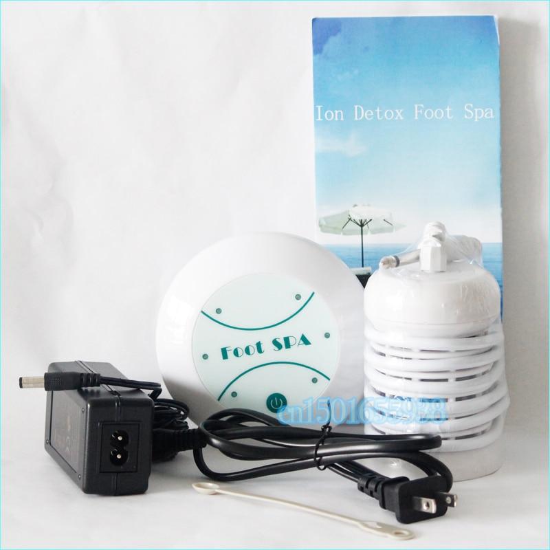 Mini Detox Machine Aqua Foot Spa Ionic Cell Spa Machine Detox Foot Bath 1 set include 1 main machine,1 ion array,1 power adapter