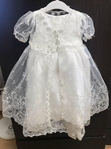 Image 5 - HAPPYPLUS Vintage vaftiz elbise bebek kız için Frocks dantel bebek duş elbise için vaftiz ikinci ilk doğum günü kıyafet kız