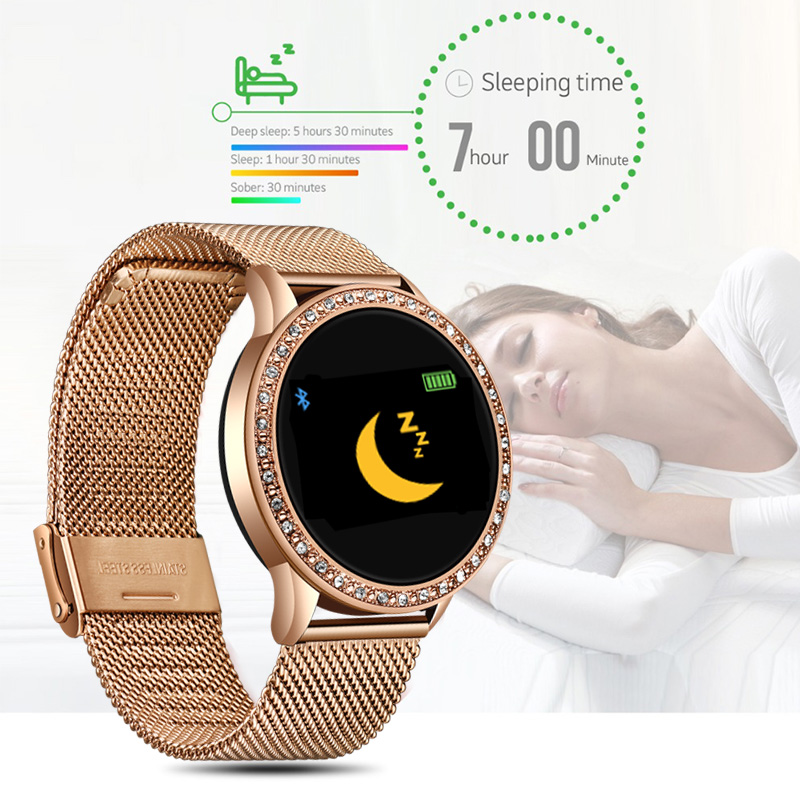 cheapest KIWITIME IWO W46 Watch 6 44mm SmartWatch 1 75 inch infinite Screen for phone Heart Rate Temperature Customize Watch Face
