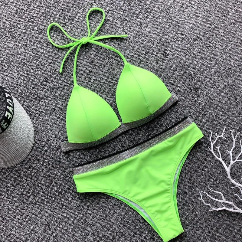Bikini strass paillette