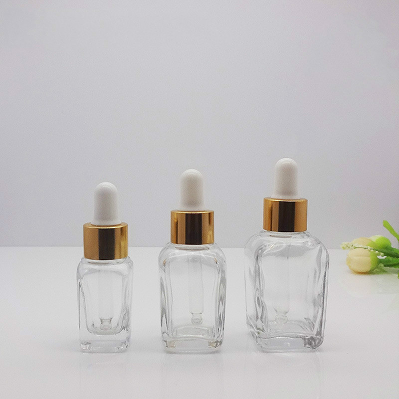 10ml 20ml 30ml Dropper Bottle Amber Essential Oil Glass Aromatherapy Liquid Brown