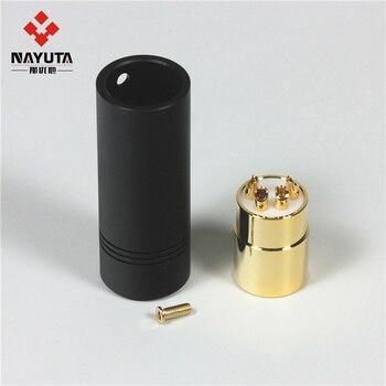 Gold-plated HIFI Audio Plug Four-core Canon XLR Plug