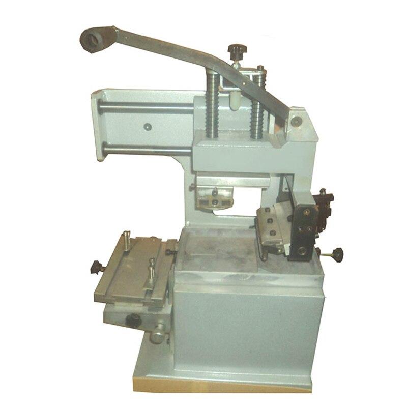 Ручная печатная машина для резиновых подушек и пользовательских пластин, КОМБИНИРОВАННАЯ печать 3 в 1, 75*100 мм, ручная печать
