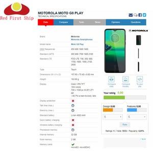Image 5 - 10 adet/grup yedek LCD ön dokunmatik ekran cam dış Lens Motorola Moto G8 oyun artı dokunmatik Panel cam G8 güç cam