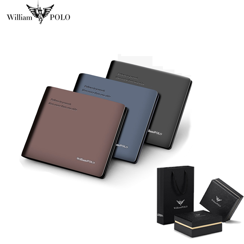 Slim Wallet for Men Card Holder Covers Luxury Brand Genuine Leather Minimalist High Quality Coin Purse Casual Note Compartments