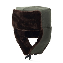 Russian Bomber Hat Men Earflaps Cap Winter Fur Hat Windproof Warm Thicken Bomber Hat Women Woolen Ear Protection Bonnet Cap цена в Москве и Питере