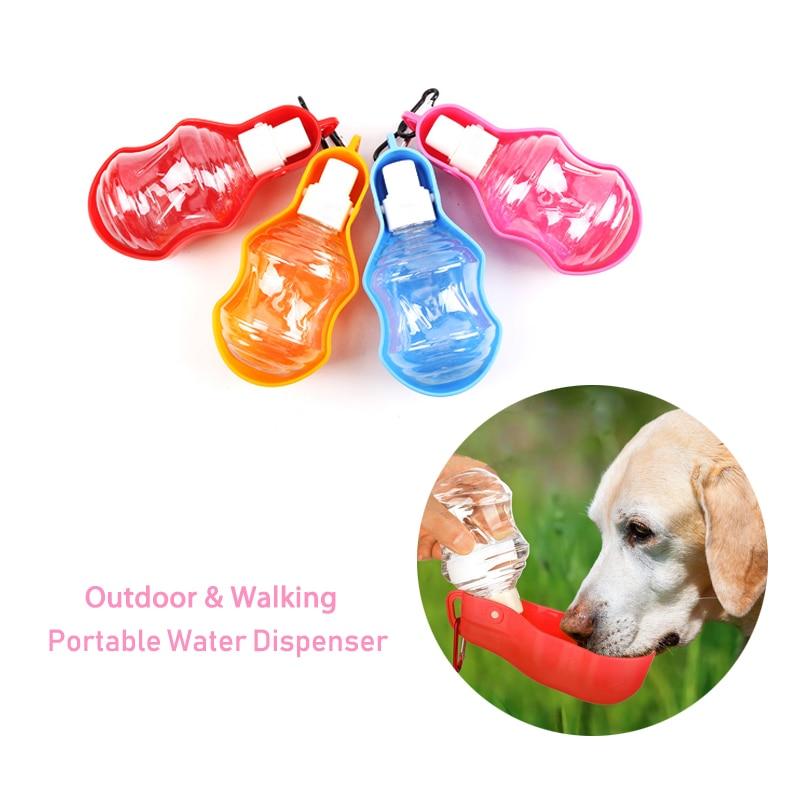 Dog Water Bottle Pet Water Dispenser Drink Bottle Portable Foldable Dog Cat Bottle For Pet Daily Walks Hiking Camping On The Go