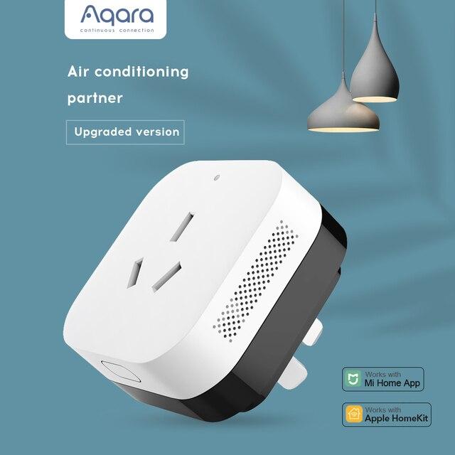 AQARA Multi Function Gateway Smart Socket 16A App Remote Control Electricity Monitoring Smart Switch Socket Work for Xiaomi app