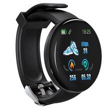 New D18 Smart Watch Sleep Tracker Heart Rate Tracke Blood Pressure Sport Smartwatch Oxygen Sports 1yw