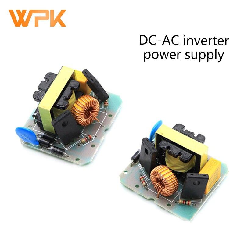 1 pces DC-AC inversor fonte de alimentação 12v litro 220v 40w step-up transformador inversor módulo step-up placa de alimentação