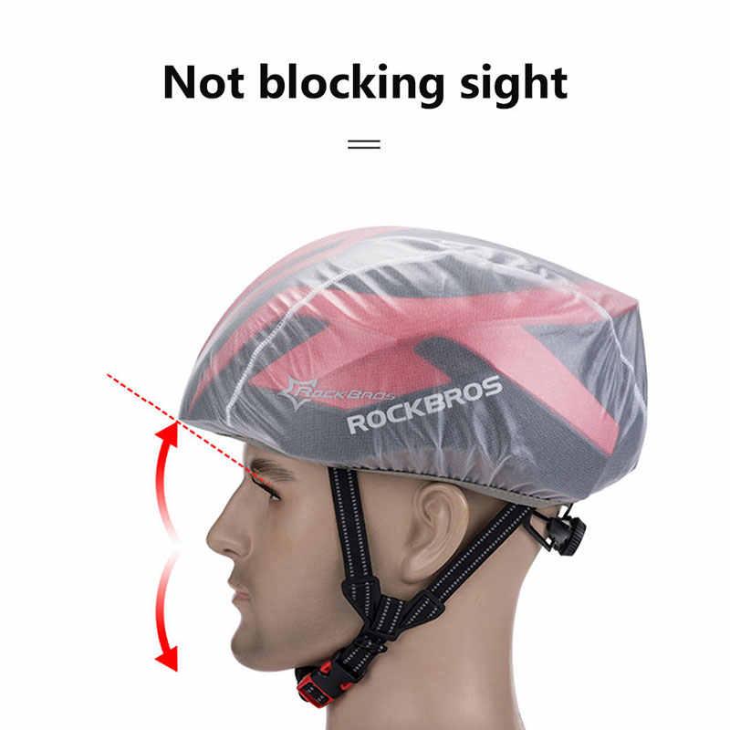 3 Colors New Windproof Waterproof Dust-proof Rain Cover MTB Road Bike Helmet Cov