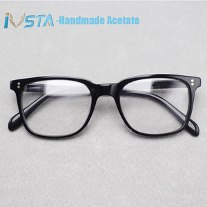 Image 2 - IVSTA OV 5031 z logo NDG 1 okulary octanowe mężczyźni oprawki optyczne recepta spolaryzowane okulary kwadratowe luksusowe marki Box krótkowzroczność