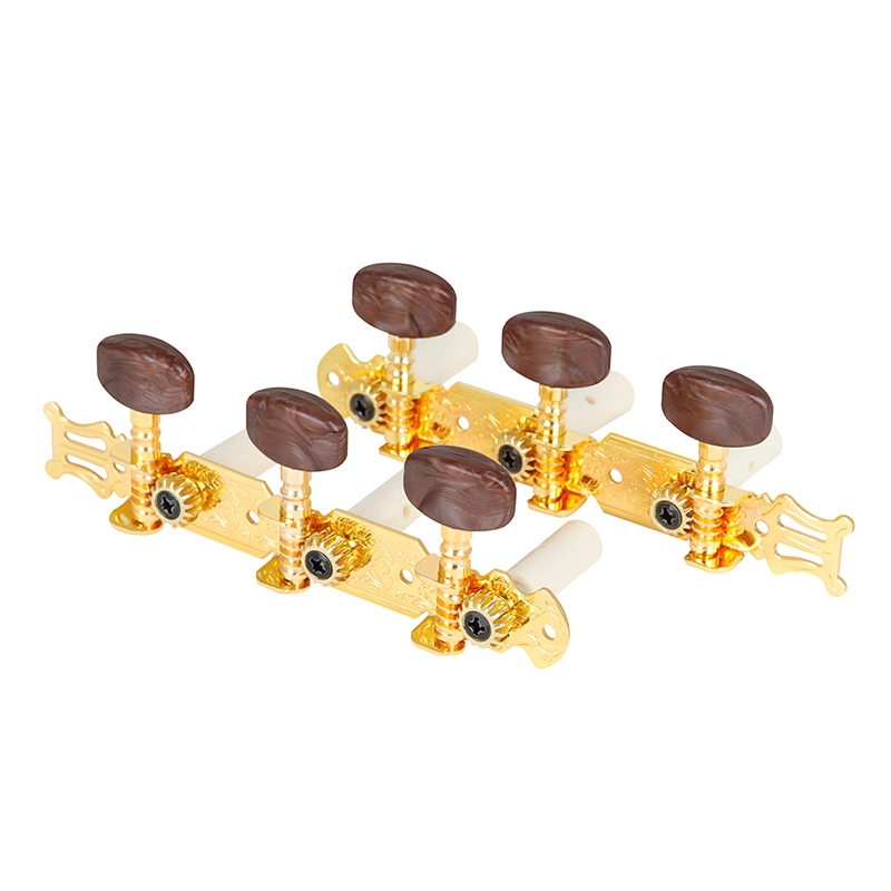 HK.LADE 1 Pair Elegant 3R3L Tuning Mechanical Pegs Tuner Peg Spare Parts for Electric Guitar