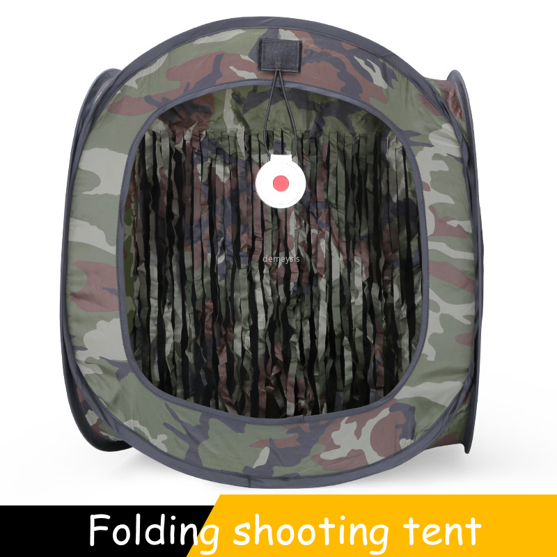Portable Outdoor Camping Tent Double Layer Foldable Tactical Hiking Traveling Tents Camouflage Hunting Shooting Climbing Tents
