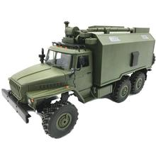 WPL B36KM Ural Metal Edition Unassembled Kit 1/16 6WD RC Car  Military Truck Rock Crawler Command Vehicle with Motor Servo