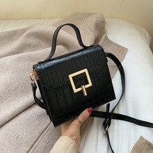 2019 New Women's Bag Trend Fashion Texture Casual Shoulder Bag Korean Version of High Quality Leather Wild Messenger Bag loeil leather bag female messenger bag korean version of the new fashion trend temperament handbag