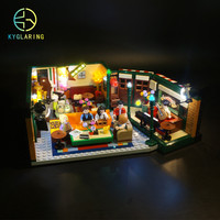 Kyglairng led light kit for LEGO 21319 the television series friends coffee shop centeral perk