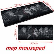 Игровой коврик для мыши большой коврик для мыши геймер большая мышь коврик компьютерный резиновый коврик для компьютерной мыши карта мира Mause коврик игровая клавиатура Настольный коврик