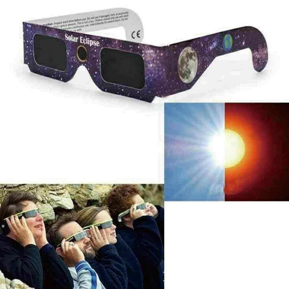 Occhiali Eclissi Solare Solare Solare di Osservazione Telescopio Astronomico Accessori per Strumenti Edc All'aperto