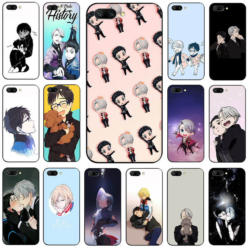Yuri On Ice Yuri <font><b>Anime</b></font> <font><b>Soft</b></font> Silicone phone <font><b>case</b></font> for Huawei <font><b>Honor</b></font> 6A 7A Pro 7C 7X <font><b>8</b></font> 9 10 Lite 8X 8C view 20 9X Pro image