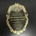 10 шт 2020 Горячая продажа лазерная резка свадебные приглашения открытка делая популярную открытка с кружевами крышка