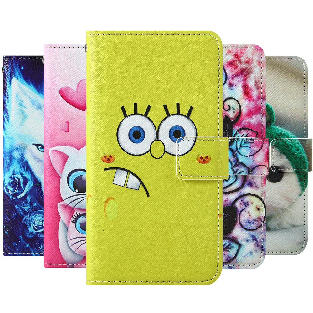 For Alcatel 1SE (2020) AllCall P10 Blackview A80 BQ 5519G Jeans Coolpad Cool 10 Cubot X30 Flip wallet Leather Phone Case Cover(China)