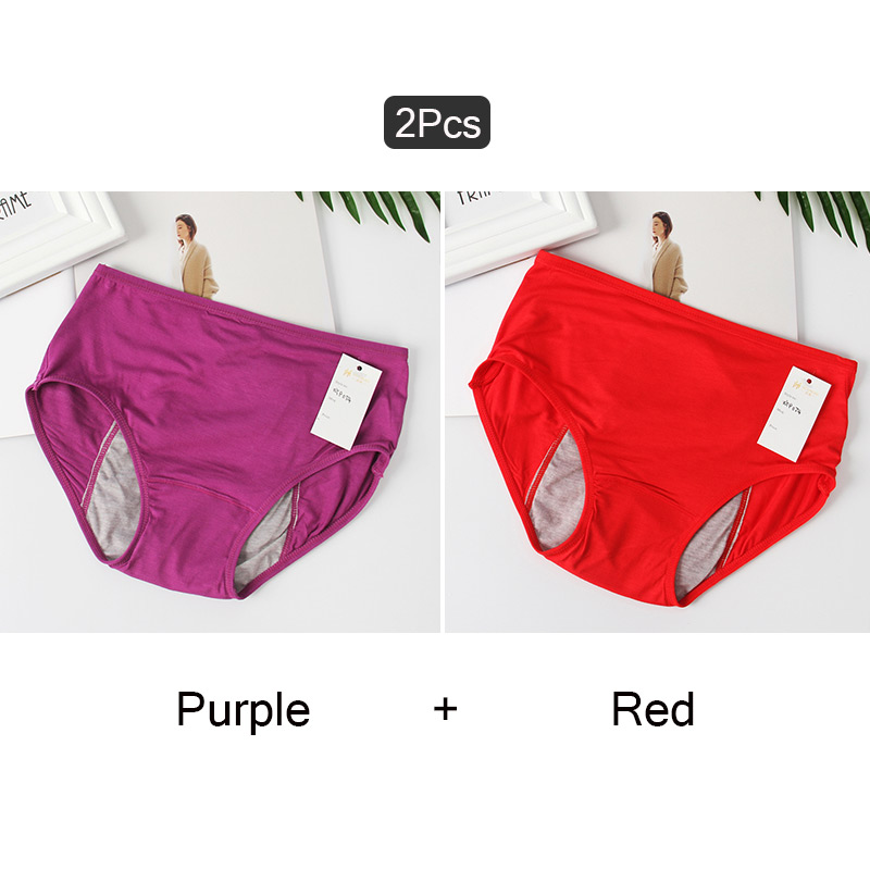 Panties Sexy Menstrual Underwear Girls Briefs Physiological Mid-Waist Warm Women Breathable