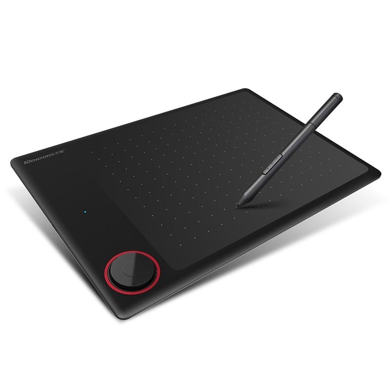 10 luas g30 gráfico desenho tablet com chave do rolo grande área ativa digital tablet suporte android telefone