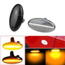 Car Accessories Dynamic LED Turn Signal Side Marker Light For Subaru Forester Impreza 2008 2019 Sequential Lamp Indicator