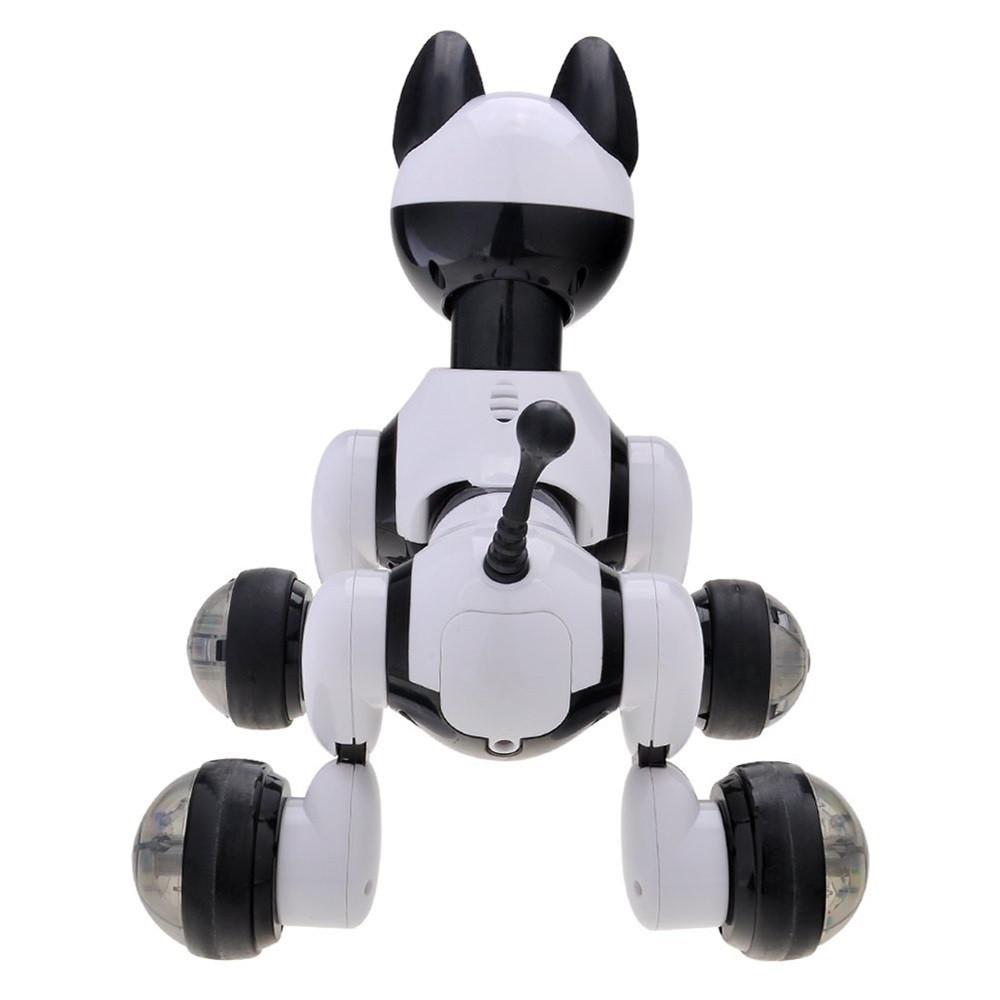 Voice Control Voice Activated Robot Dog Electronic Toy Interactive Doggy Robot Puppy Music LED Eyes Flashing Action Toy 2