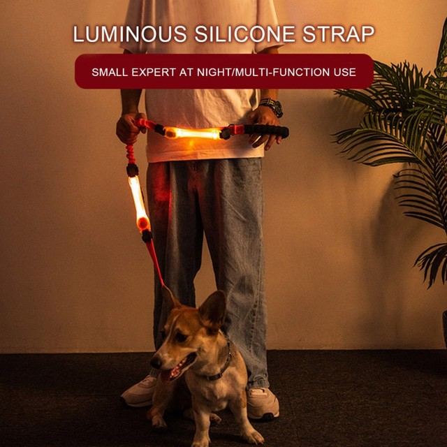 Pet LED Luminous Strap For Dog Multi-functional Glowing Collar 1