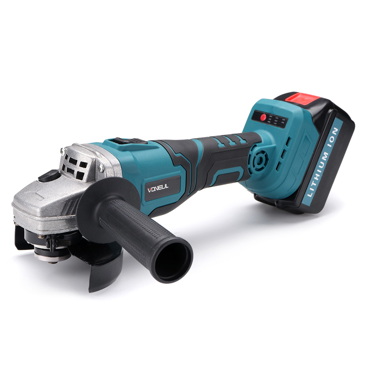 48V Cordless Electric Angle Grinder Lithium-Ion Grinding Machine Cutting 128tv/29800mA Angle Grinder Grinding / Chainsaw Bracket