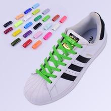 1 пара Магнитные шнурки эластичный замок шнурки специальные творческие не связать обувь на шнурках дети взрослые унисекс кроссовки строки шнурки