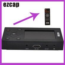"""Ezcap Acquisizione Video Audio Converter Registratore VHS/Videocamera Nastri per Digitale 8GB di Memoria 3 """"Dello Schermo per VCR DVD Console di Gioco"""