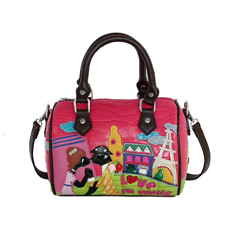 Style italien amoureux mignons sacs à main de luxe dames sacs concepteur broderie femmes sacs à bandoulière femme sac fourre-tout décontracté