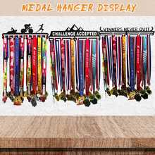 Sport Medaille Hanger Holder Medaille Display Rack Gymnastiek Hardlopen Medaille Hanger Display Rack voor Running Fiets Voetbal Basketbal(China)