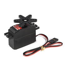 JX PS-2503HB 4.8V-6V High-Voltage 0.10sec/60 3.35kg Digital Plastic Gear Analog Mini Servo Metal Case for 1/12 RC car jx ps 2503hb 4 8v 6v high voltage 0 10sec 60 3 35kg digital plastic gear analog mini servo metal case for 1 12 rc car