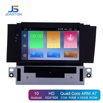 JDASTON Android 10 Car DVD Player For Citroen C4 C4L DS4 Multimedia Video Player WIFI GPS Navigation 1 Din Car Radio Stereo RDS
