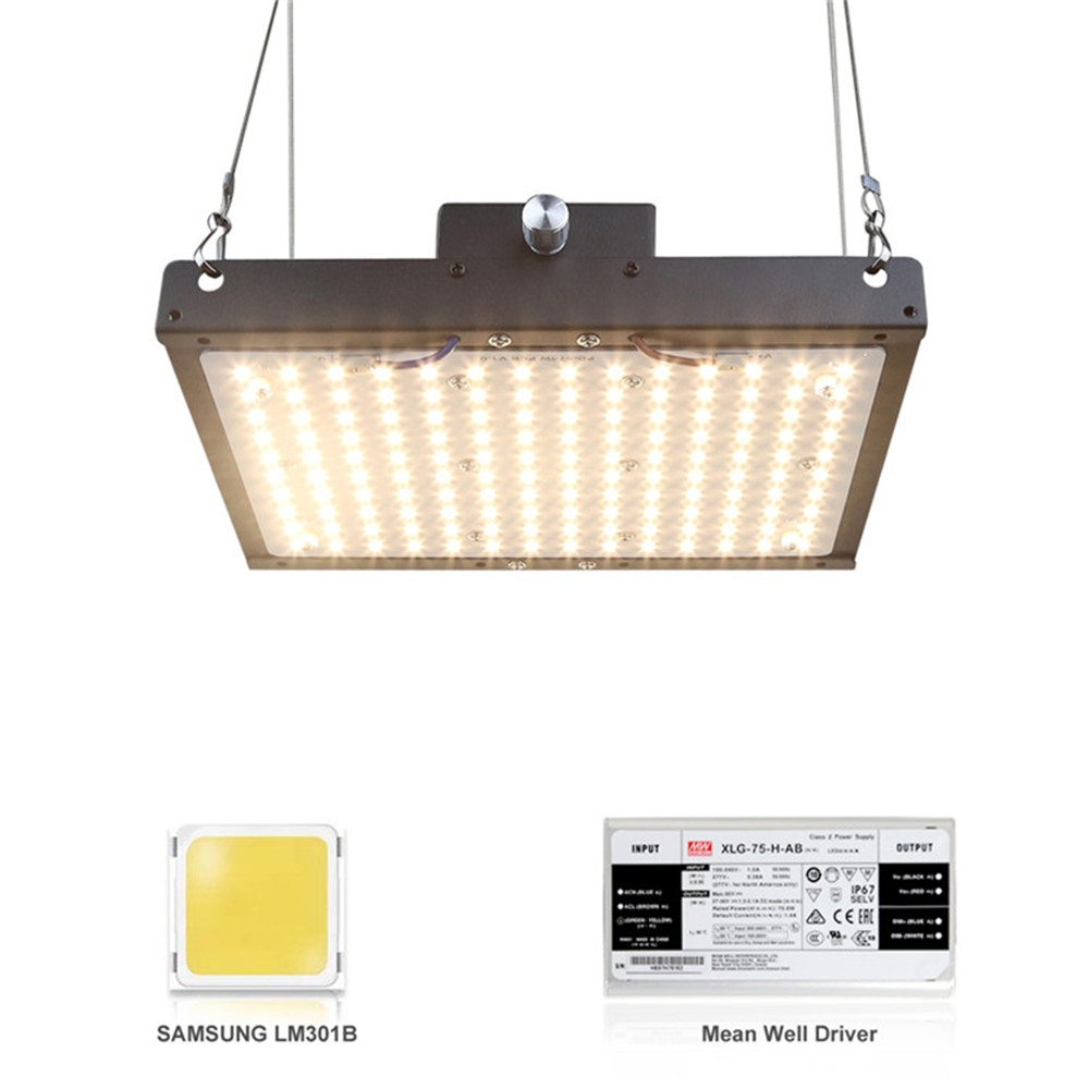LED Grow Light Dimmable Quantum <font><b>Board</b></font> Full Spectrum <font><b>SAMSUNG</b></font> <font><b>LM301B</b></font> 140W Plant Growing Lamp For Indoor Greenhouse Plants Growth image