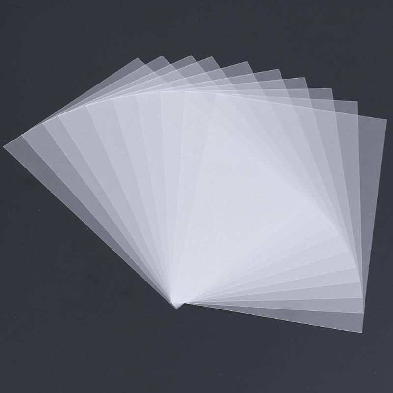 50pcs DIY Scrapbook Sheet Handmade Shake Card PVC For Photo Album Scrapbooking Decor