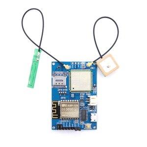 Image 4 - לelecrow ESP8266 ESP 12S A9G GSM GPRS + GPS IOT צומת V1.0 מודול IOT פיתוח לוח עם כל אחד WiFi סלולארי GPS מעקב