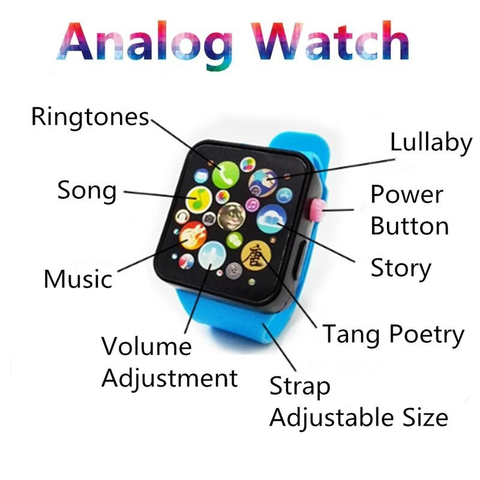 6 Colors Plastic Digital Watch for Kids Boys Girls High quality Toddler Smart Watch for Children Dropshipping Toy Watch Lahore